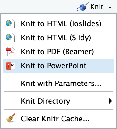 rendering powerpoint presentations with rstudio rstudio support