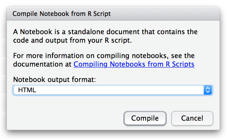 Creating Notebooks from R Scripts – RStudio Support