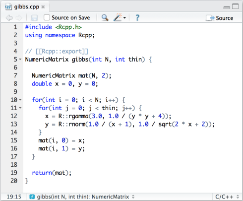 Using Rcpp with RStudio – RStudio Support